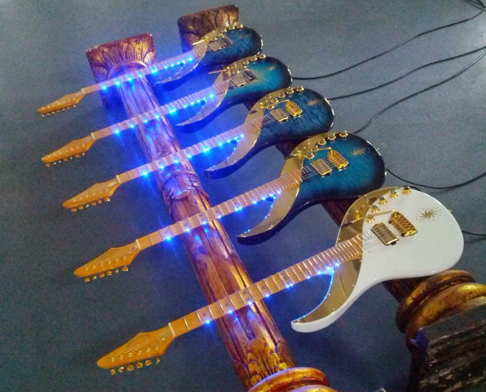 5 new sky guitars