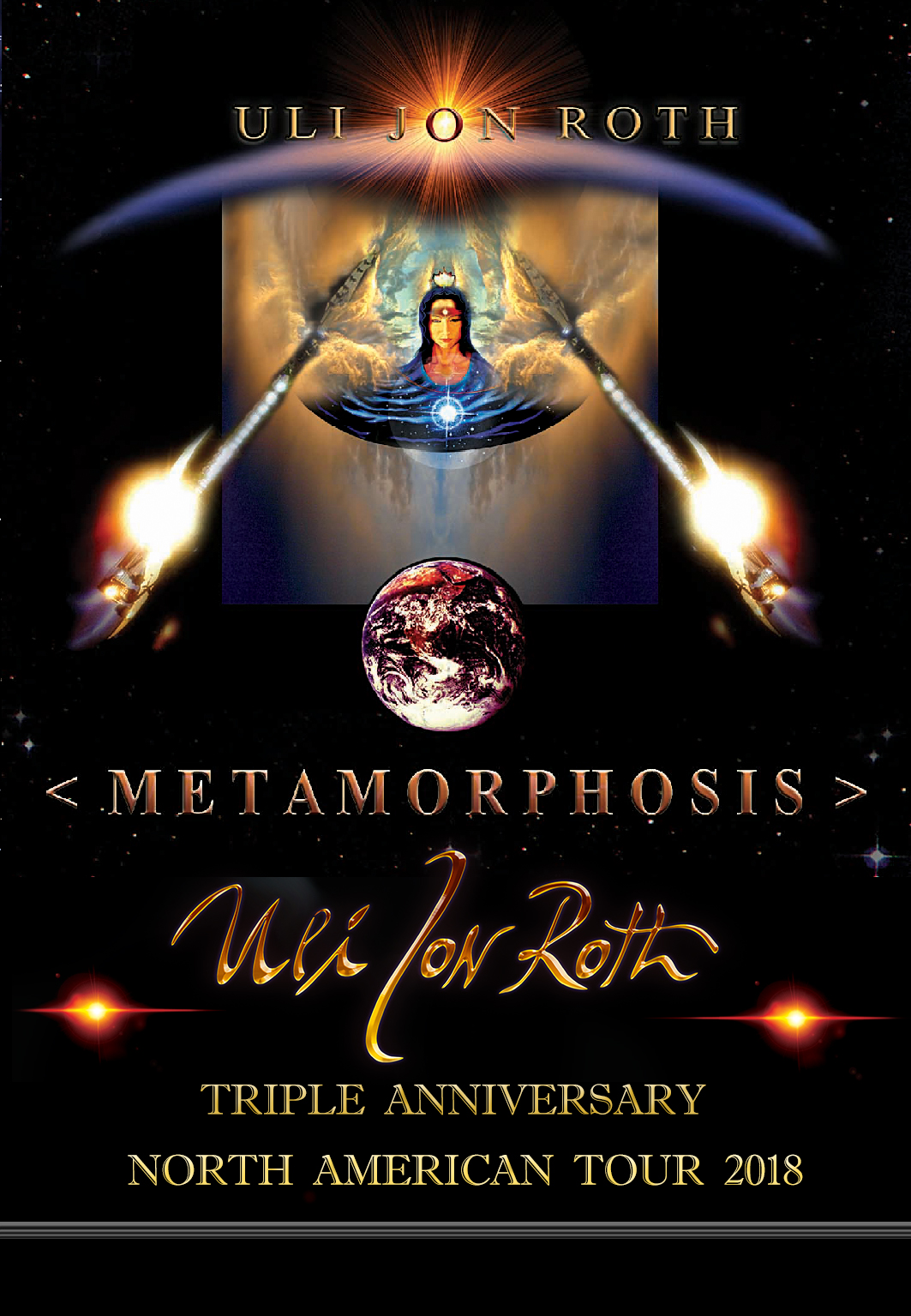 METAMOROHOSIS VIP PASS 2018 USA