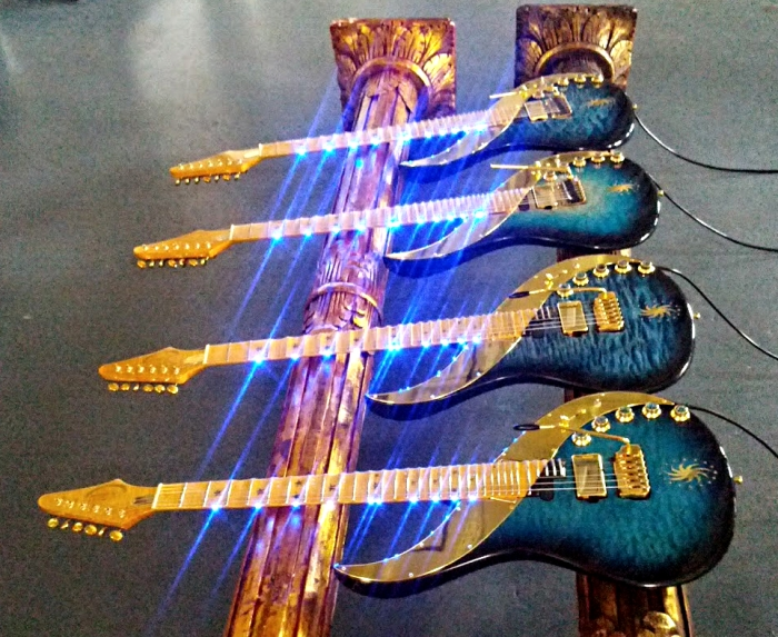 4 new Sky Guitars Tronical 2012 magic smaller
