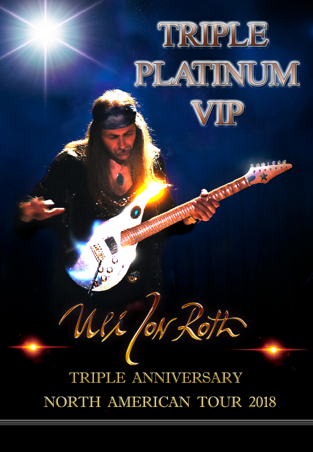 UJR TRIPLE PLATINUM VIP PASS 2018